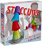 Buffalo Games Staccups-Match and Stack to Win the Race Speed Game