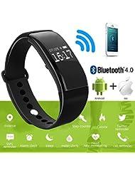 Bracelet Sportif Intelligent, Bracelet à Cristaux Liquides à Cristaux Liquides à Cristaux Liquides Montre Podomètre Fitness Tracker Bluetooth Sleep Monitor6
