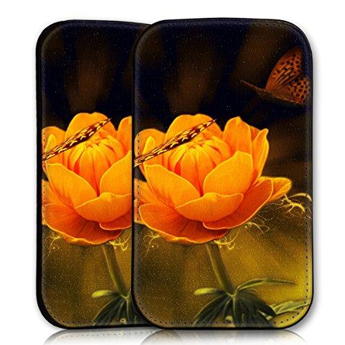 Sleeve Style Handy Tasche Case Schutz Hülle Schale Motiv Etui für Apple iPhone 6 / 6S - Sleeve UBS15 Design11 Design 11