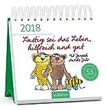 Lustig sei das Leben, hilfreich und gut 2018: Mit Janosch durchs Jahr