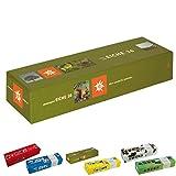 ebos Memospiel ✓ 36 Bildpaare | Motive ✓ 72-teilig ✓ Gedächtnisspiel | Kartenspiel | Kinder-, Jugendlichen- und Erwachsenen-Spiel (Eiche)