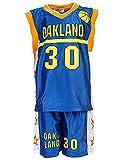24brands - Jungen Sport Basketball Baseball Shirt Trainings Trikot Teamfarben Chicago Boston Trikot - 2942, Größe:104-110;Farbe:Oakland