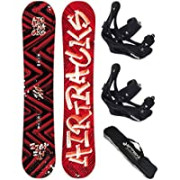 AIRTRACKS SNOWBOARD SET - TABLA DIRTY BRUSH WIDE 155 - FIJACIONES SAVAGE L - BAG/ NUEVO