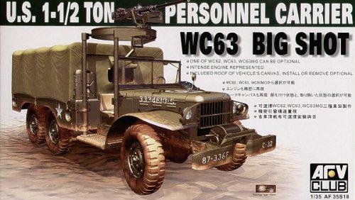 Maquette U.S. 1-1/2 ton personel carrier WC63 Big Shot