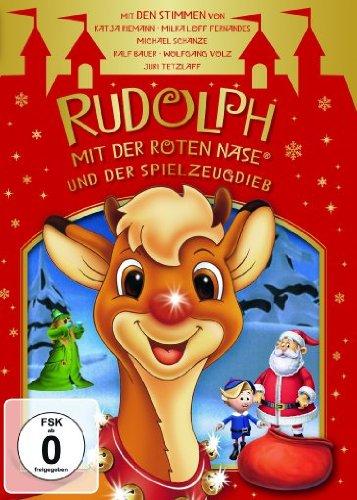 Rudolph mit der roten Nase und der Spielzeugdieb