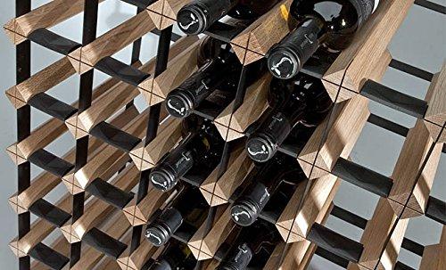 Marken Holz Weinregal RAXI 'Classic' für 120x Flaschen - Laden-/Vinothek Regal