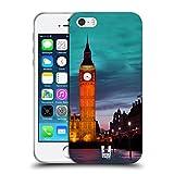 Head Case Designs Big Ben Torre Dell'orologio di Notte Londra Il Meglio di Ogni Luogo Set 2 Cover Morbida in Gel per iPhone 5 iPhone 5s iPhone SE