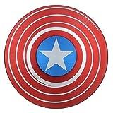 #8: AdiChai Captain America Shield Metal Spinner-Red