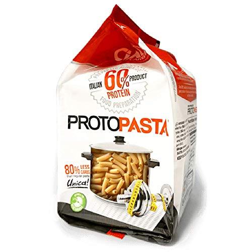 Pasta proteica 250 gr - sedani rigati - altissimo contenuto di proteine (60%!!!) - sp060