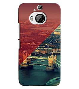 PRINTVISA London Case Cover for HTC One M9 Plus