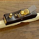 D DOLITY Vintage Holzbearbeitung Flachdach Holzhobel Handhobel Schreinerei Woodcraft Werkzeug - 1