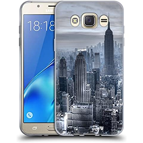 Official Haroulita New York 3 Places Soft Gel Case for Samsung Galaxy J7 (2016)