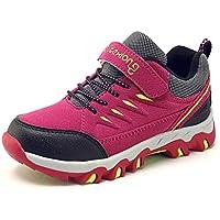 Eagsouni® Zapatillas de Senderismo y Trekking para Niño Escalada Deporte No Resbaladizo Caminar Transpirable Sneakers