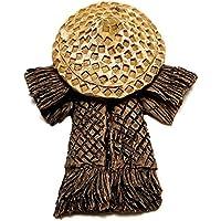 easyshop Paesaggio diy ornamenti di bambù Arredamento antico giardino di