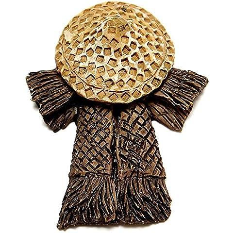 Bargain World Paesaggio diy ornamenti di bambù Arredamento antico giardino