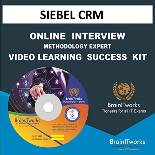 SIEBEL CRM Online Interview video learning SUCCESS KIT