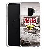 DeinDesign Samsung Galaxy S9 Silikon Hülle Case Schutzhülle VfB Stuttgart Fanartikel Stadion