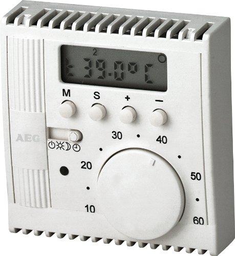 AEG 184905 FTEU 911 Fubodentemperaturregler 10 A, 230 V, Unterputz