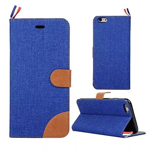 iPhone 5S Hülle, iPhone SE Hülle, Lifeturt [ Hellblau ] Luxus PU Leder Brieftasche Flip Case Cover Schütz Hülle Abdeckung Ledertasche mit Standfunktion Karteneinschub und Magnetverschluß Etui Flip Cas E02-Blau