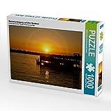 Sonnenuntergang auf dem Sambesi 1000 Teile Puzzle quer (CALVENDO Orte)