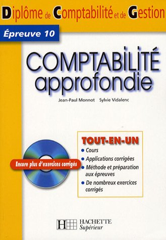 Comptabilité approfondie DCG10 (1Cédérom)