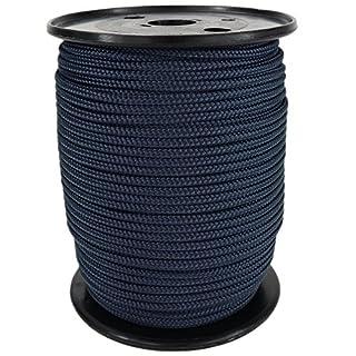 PP Seil Polypropylenseil SH 4mm 100m Farbe Marine Blau (0112) Geflochten
