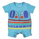 Boboli Baby-Jungen Spieler Knit Play Suit for Boy, Blau (Water 2365), 56 (Herstellergröße: 1M)