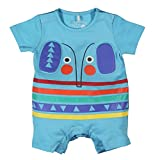boboli Knit Play Suit For Baby Boy, Mono Unisex Bebé, Azul (Water), 56 cm (Talla del Fabricante: 1M)