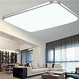 WYBAN Hohe Qualität Moderne Energiespar Panel 72W Kaltweiß LED Deckenleuchten perfekt für Wohnzimmer Schlafzimmer Gastzimmer Pendelleuchte Deckenbeleuchtung