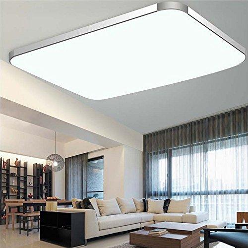 SZYSD LED Deckenleuchte Badleuchte Deckenlampe Flurleuchte (72W Kaltweiß)