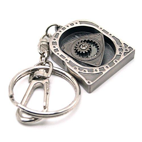 waterwoodcreativo-automatico-parte-del-modello-di-filatura-rotary-keychain-motore-anello-portachiavi