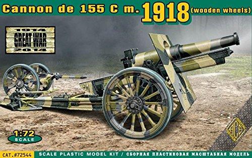 ace-1-72-canon-de-155-c-m1918-ruedas-de-madera-72544-kit-modelo-plastico
