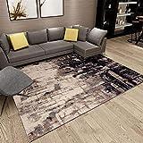 CarPET abstrakt Teppich Teppich Matte einfach verdickt Mode trendy Design Wohnzimmer Couchtisch Esszimmer Schlafzimmer Nachttisch Rechteck Home Decke klassischen Boden Bodengröße 160cm * 230cm
