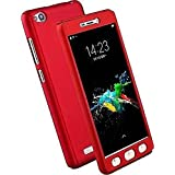 BACK-C IPaaky Stlye Front Back Case Cover For Xiaomi Redmi 5A (Red) - B078JN93B8