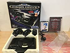 Sega Megadrive Console + Sonic the Hedgehog