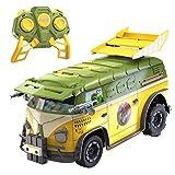 Donnie e Casey hanno trasformato questo trabiccolo discarica nella macchina battaglia Green Team. Blindata e carichi di armi ninja, niente può fermare il Tartarughe partito Wagon. Aprire il tetto per rivelare i lanciamissili. Fuoco di distanz...