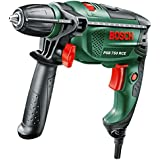 Bosch DIY Schlagbohrmaschine PSB 750 RCE, Tiefenanschlag, Zusatzhandgriff, Koffer (750 Watt, max. Bohr-Ø: Holz: 30 mm, Beton: 14 mm)