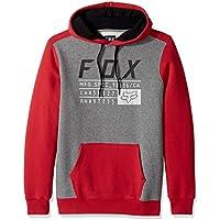 Fox Fleece Hoody District 3 Rot Gr. L