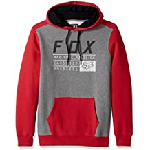 Fox District 3 Pullover Fleece by [DRK RED]