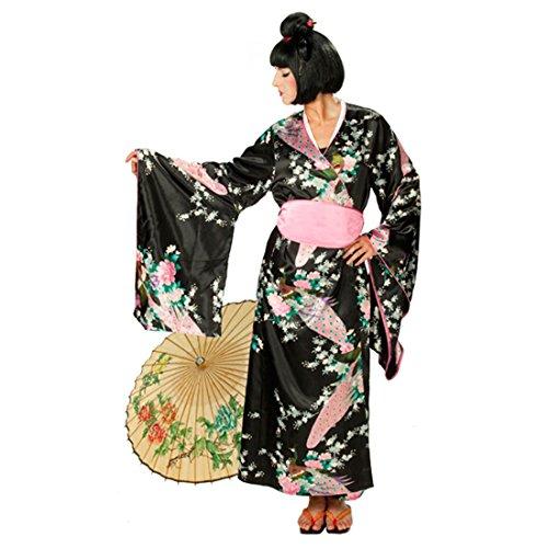 Kostüm Asiatische Geisha - NET TOYS Geisha Kostüm Japanerin Damenkostüm Asiatin Geishakostüm Kimono asiatische Verkleidung