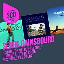 Histoire De Melody Nelson / L'Homme A Tête De Choux / Aux Armes Et Caetera (Coffret 3 CD)