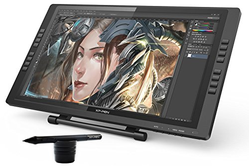 XP-Pen Artist22E 22inch FHD IPS Graphic Pen Display Interactive Drawing Monitor with Shortcut keys and Adjustable Stand Support Windows Mac