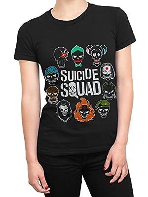 Suicide Squad - T-Shirt à Manches Courtes - Femme