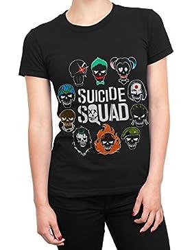 Suicide Squad - Camiseta para mujer