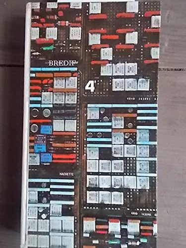 Mathématique 4e (quatrième). Cours Brédif. 1968. Cartonnage de l'éditeur. 394 pages. (Mathématiques, Manuel scolaire secondaire)