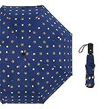 LYJZH Regenschirm Taschenschirm, kompakter tragbarer,geeignet für Männer und Frauen Vinyl Bär...