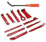 DEYUE 12 Teiliges Werkzeugset zur Entfernung von Autoverkleidungen   Hebel- und Lösewerkzeug für Türverkeidung   KFZ Spachtel   Autoradio Ausbauwerkzeug