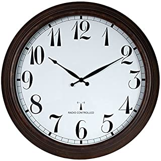 Perfect Time Radio Controlled Outdoor Garden Clock - 57.5cm by About Time
