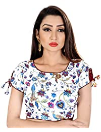 26ca929e06b Amazon.in  Whites - Blouses   Ethnic Wear  Clothing   Accessories