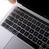 EooCoo Cubierta del Teclado Compatible para 2020 MacBook Pro 13 Pulgadas A2338 A2289 A2251 con Touch Bar y Touch ID, QWERTY E